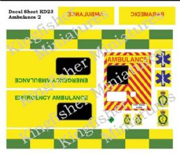 Ambulance Markings Set 2